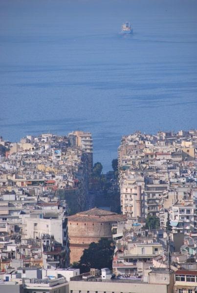 Camminando a Salonicco