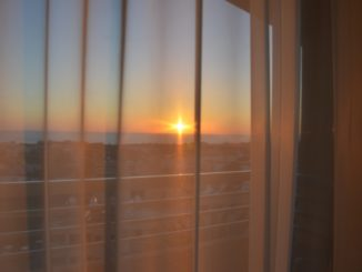 hotel view – through the window, Apr.2015