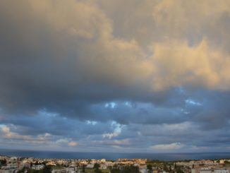 hotel view – clouds, Mar.2015