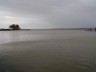 Ungheria. lago Balaton