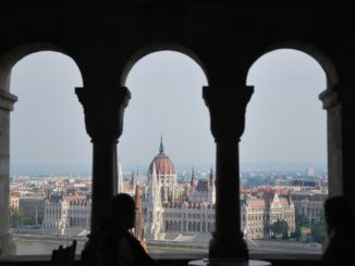 The typical view in Budapest