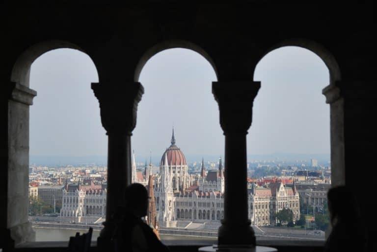 Tipico panorama di Budapest capitale dell'Ungheria