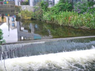 Ireland, Galway – river, July 2011