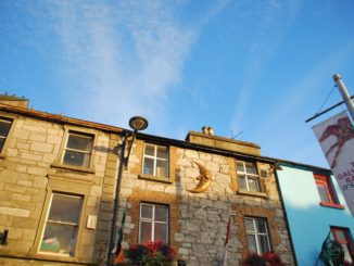 Ireland, Galway – buildings and sky, July 2011