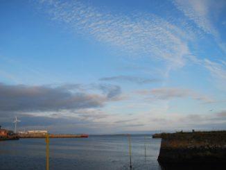 Ireland, Galway – sky, July 2011