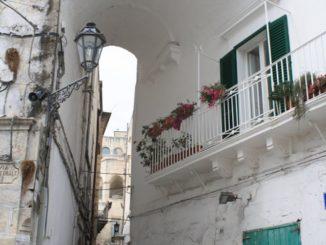 White Town of Ostuni in Puglia
