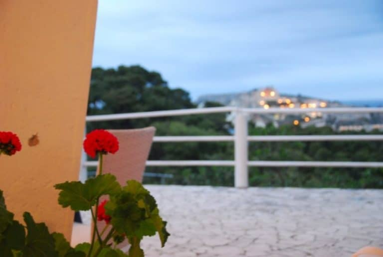 The three star hotel in Tremiti
