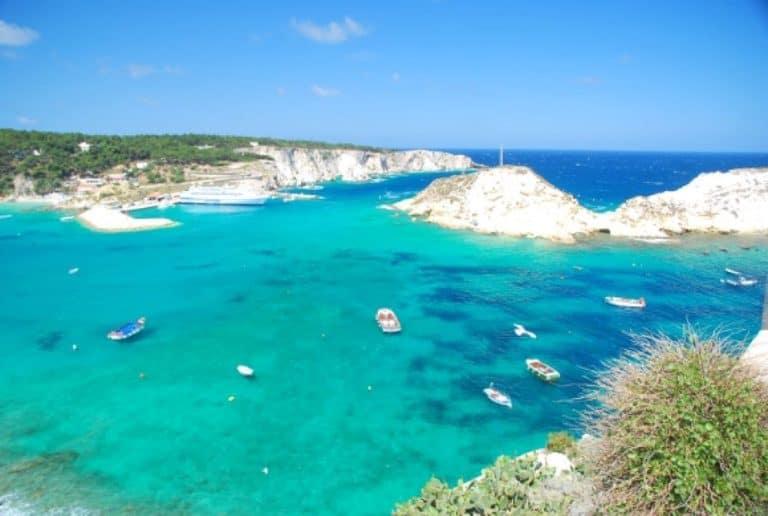 The sea around Tremiti