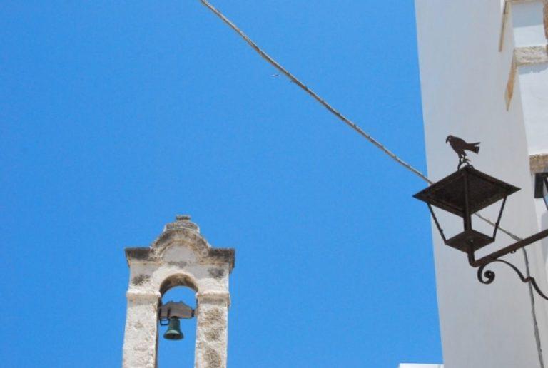 White town of Polignano