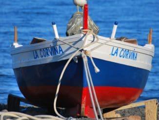 Italy Sicily Eolian Island