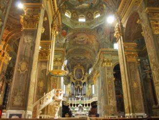 La chiesa il cui interno è sorprendente