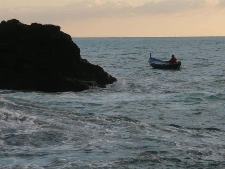 Tramonto a Vernazza nelle Cinque Terre