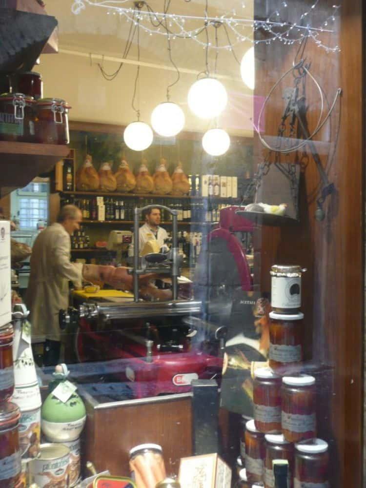 Negozio vecchia moda a Bergamo