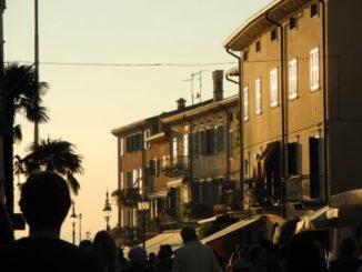 ラツィセの夕日