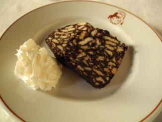 Salame dolce a Mantova