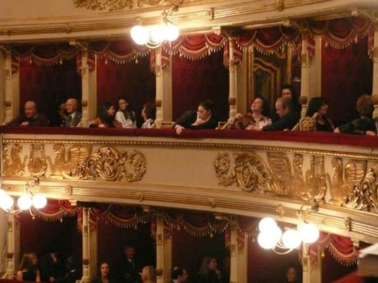 Una serata a La Scala di Milano