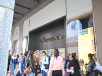 De compras en La Rinascente en Italia