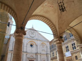 Pienza, another pretty town in Tuscany
