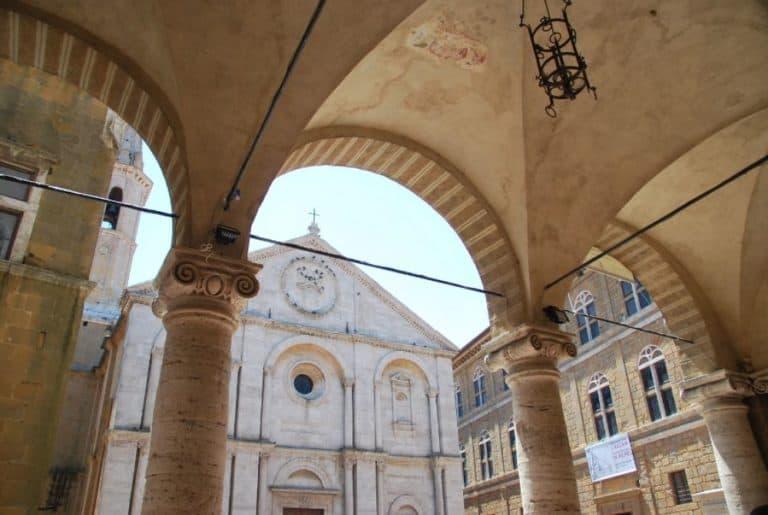ピエンツァもトスカーナのきれいな町