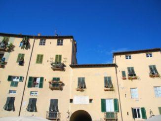 Blue Sky in Lucca