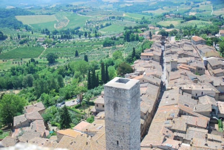 A Wonderful View of San Gimignano