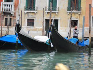 Italy, Venice – on the phone, Nov. 2012