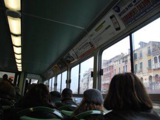 Italy, Venice – water-bus, Nov. 2012