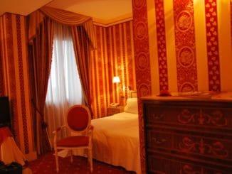 Italy, Venice – room, Nov. 2012