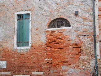 Italy, Venice – old wall, Nov. 2012
