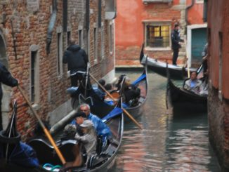 Ride on a gondola