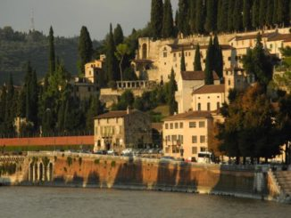 Italy, Verona – riverbank 2011
