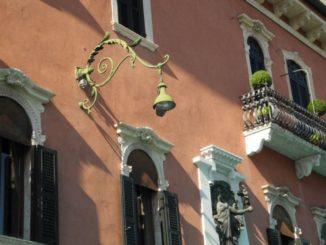 Italy, Verona – pink wall 2011