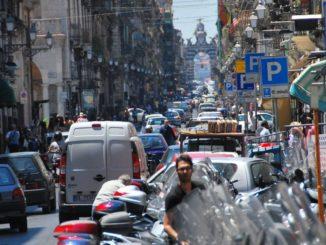 Italia, Catania – lumache vive