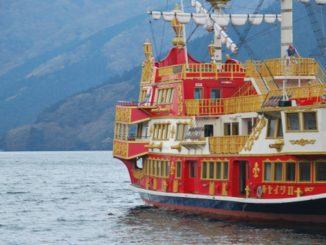 Pirates Boat on Lake Ashi