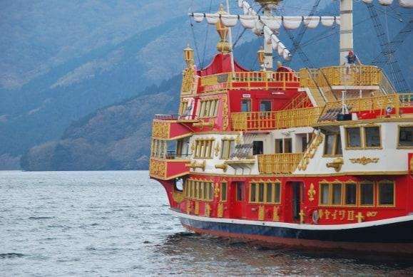 Pirates Boat on Lake Ashi
