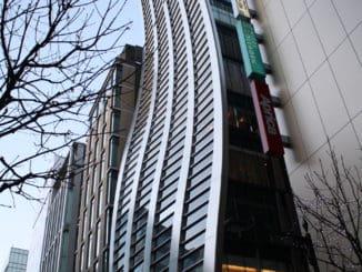 東京で見つけたおかしな建物