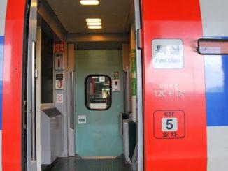 Korea, Busan – train, Apr.2012