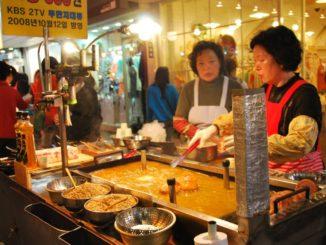 Korea, Busan – cooking, Apr.2012