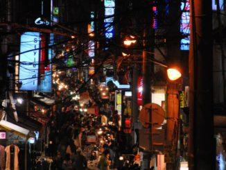 Korea, Busan – night, Apr.2012