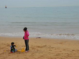 Korea, Busan – mum&kid, Apr.2012