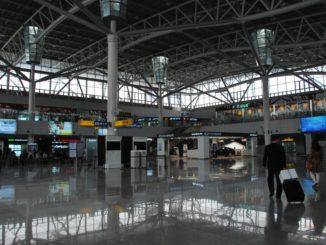 Korea, Busan – station, Apr.2012