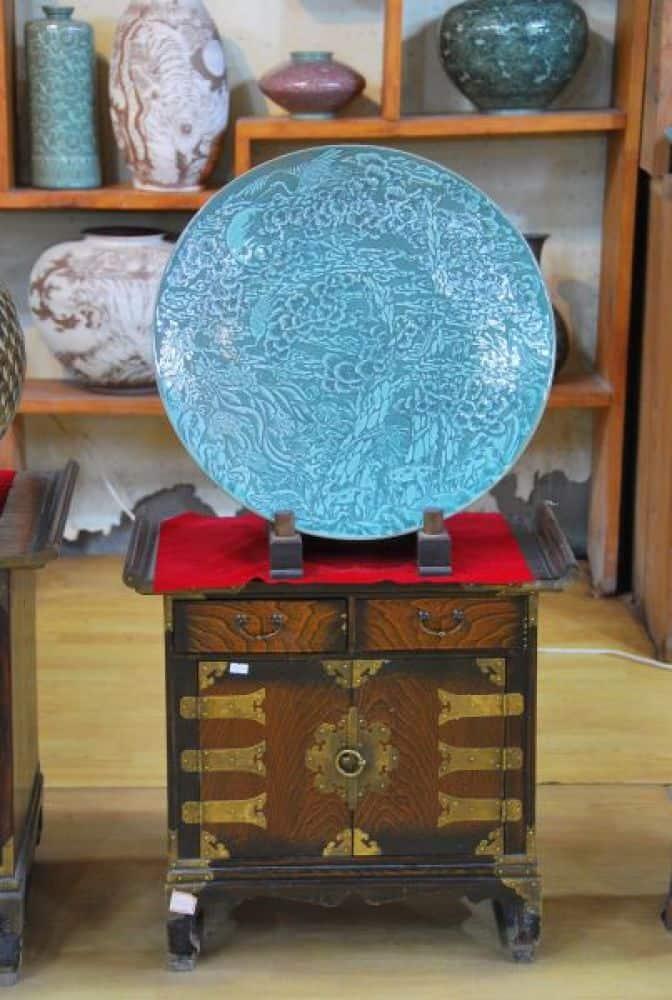 Porcellana celadon a Gyeongju