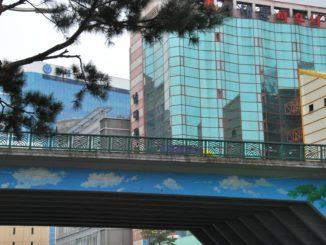 Korea, Seoul – bridge, Apr.2012