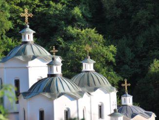Makedonia, St. Joakim Osogovski – white church, 2011