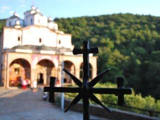 Macedonia, St. Joakim Osogovski – cross, 2011