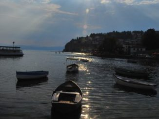 Macedonia, Ohrid – the sun, 2011
