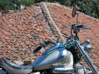 Macedonia, Ohrid – motorcycle, 2011
