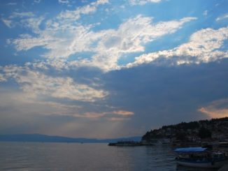 Macedonia, Ohrid – sunset, 2011