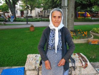 Macedonia, Ohrid – an old woman, 2011