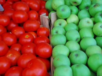 Macedonia, Ohrid – red and green, 2011